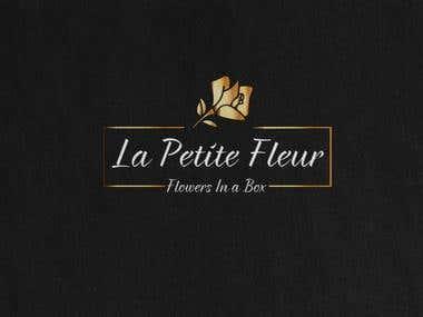 Flowers In Box logo design