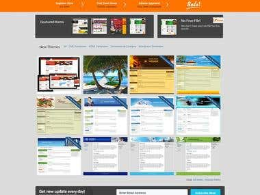 Our Templates Selling portal with http://templatestalk.com