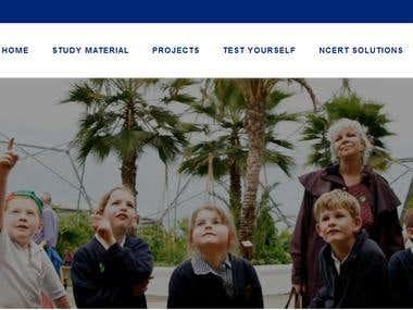 Online education/books/Notes website