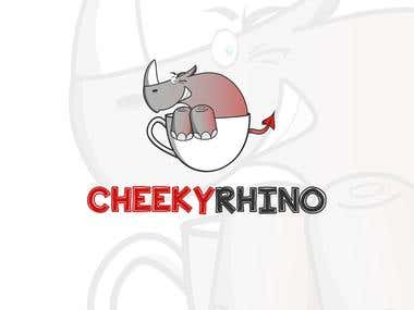 Cheeky Rhino Tea company design