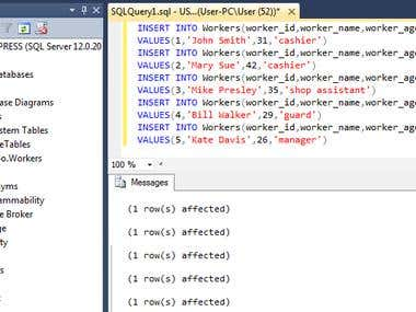 SQL Portfolio