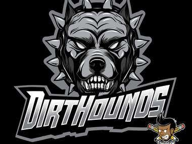 dirt hound logo motocross