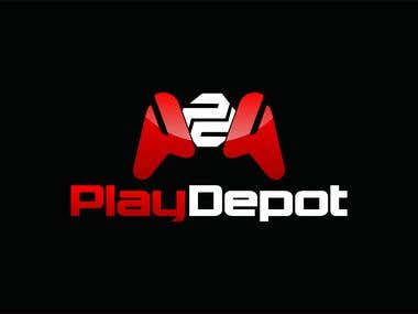 Logo for PlayDepot