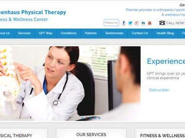 Website For Physical Therapy Institute