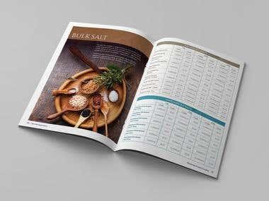 Product catalog for Sea Salt Super Store