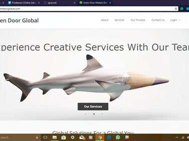 Greendoorglobal : A business website