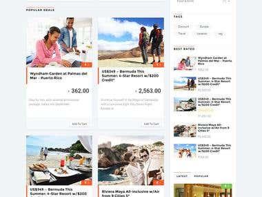 Marketplace / Coupons Multi Vendor Portal http://www.bargain