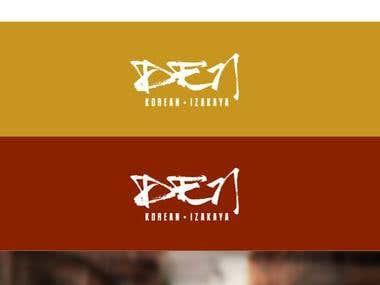 Logo for DEN - Korean Izakaya