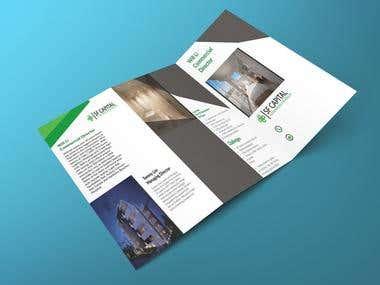 I will design professional brochure, brochure design.