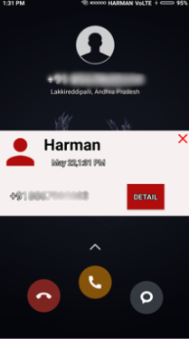 Spam Finder - website and android application (truecaller)
