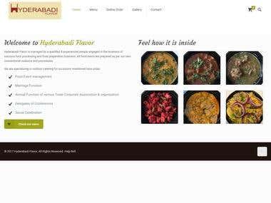 Online food ordering http://www.hyderabadiflavor.com/