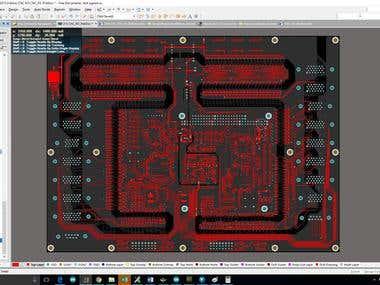 8-axis CNC control board