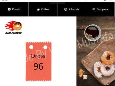Donuts Ordering App