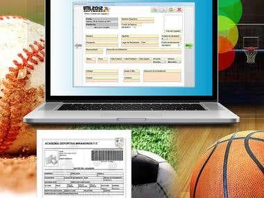 Programa para el Registro de Jugadores de Futbol SUB 16
