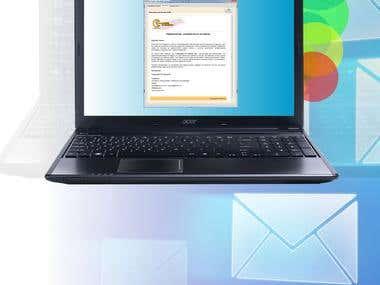 Programa para envio de Correo HTML