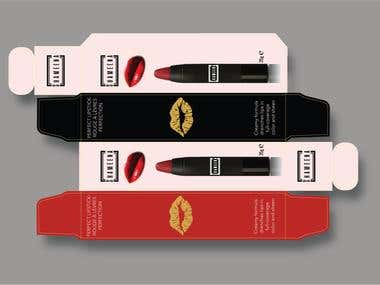 Lipstick Package Design