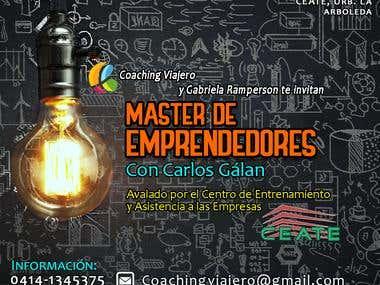 Flyer Curso de Emprendimiento