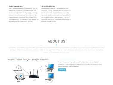 Cremortech - an I.T company's website