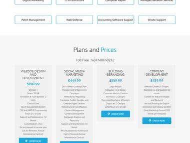 Itech Logic's website
