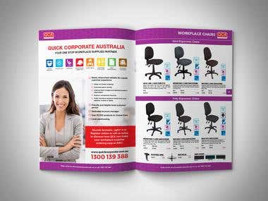 Product Catalog for QCA Office Furniture