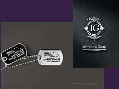 1 Logo - 2 Jewel design