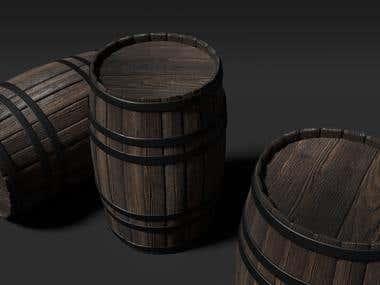 PBR Rum Barrel