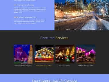 Lumino City Template design