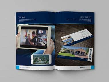 Brochure Design for Harcourts Dapto