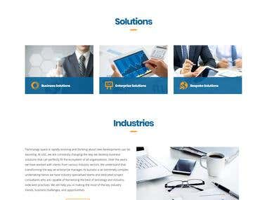 Global Services Consultancy (GSC) Technologies Website