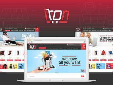 Iron website