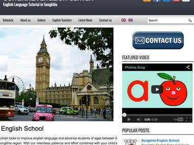 Website Wordpress Dual Language