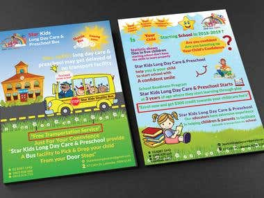 Flyer design (education based)