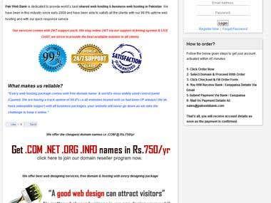 Pak Web Bank