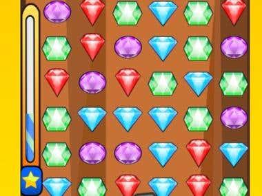 HTML5 Game- Treasure Combo (Puzzle)