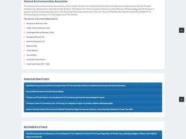 Ecoscan (Dynamic Website)