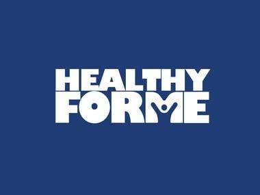 healthy for me fitness program logo