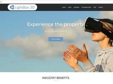 Wordpress Website : http://lightbox3d.com.au