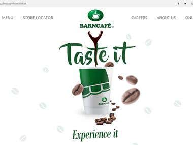Barncafe Multilingual Website & Online Store