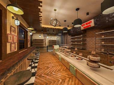 Bakery 3d & 2d Design