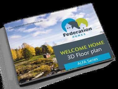 multipage booklet landscape