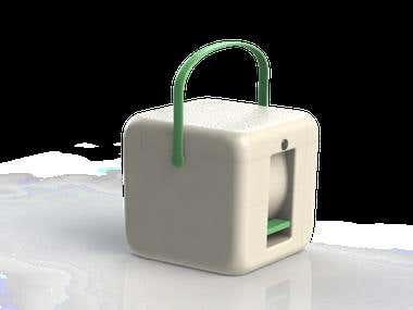 Compact manual washing machine