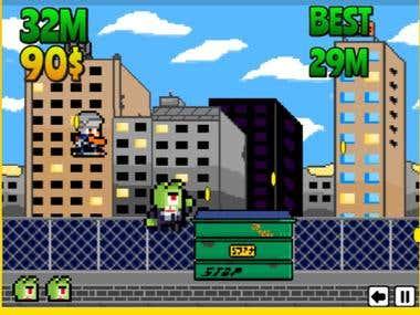 Html5 Game- Smash Monster Smash (Runner)
