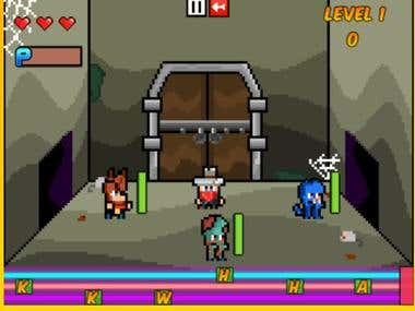 Hmtl5 Game- Rhythm Dungeon
