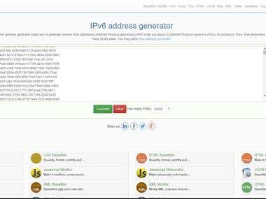 Creature proxy server ipv6/48 (65000) ip address