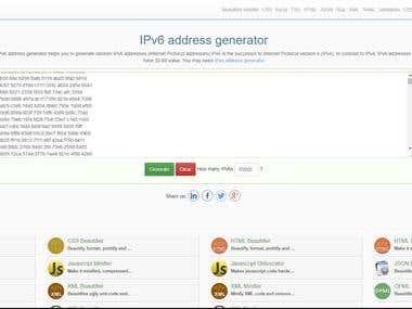 Creature proxy server ipv6/48 (65000) ip address