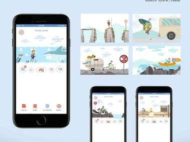 Mobile APP for traveling planing