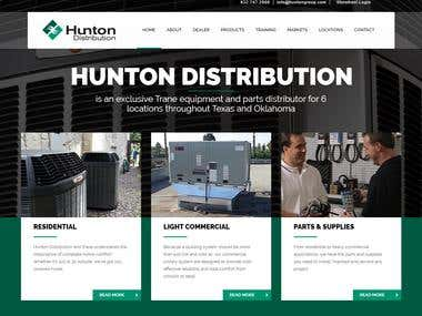 Huntondistribution