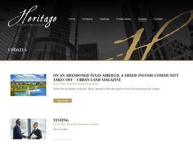 Heritage Finance Holdings