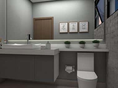 DESIGN DE INTERIORES - LAVABO