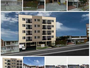 Architecture photo edit